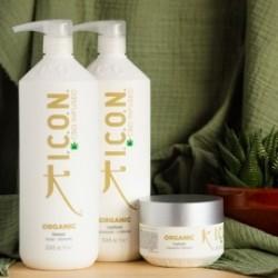 Pack ICON Organics 1 Litro: Champú Acondicionador con regalo de Tratamiento