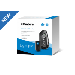 Pandora LIGHT PRO - alarma coche - Bluetooth, control smartphone, control remoto con pantalla
