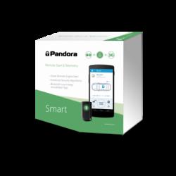 Pandora SMART - Alarma para coche con sistema inteligente antirrobo, arranque remoto y módem GSM