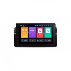 "Navegador GPS LCD Táctil 9"" BMW SERIE 3 E46 Android 9.0 4Gb RAM 64Gb ROM CarPlay"
