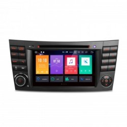 Navegador GPS para Mercedes Benz Clase E W211 y CLS W219 Android 9.0 4Gb RAM CarPlay