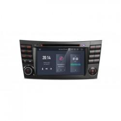 Navegador GPS para Mercedes Benz Clase E W211 y CLS W219 Android 9.0 4Gb RAM HDMI 4k