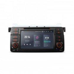 "Navegador GPS LCD Táctil 7"" BMW SERIE 3 E46 Android 9.0 4Gb RAM CarPlay"
