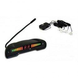 Kit de 4 Sensores de Aparcamiento SPY Blancos con LED Wireless