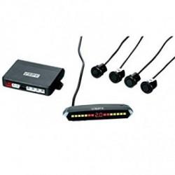 Kit de 4 Sensores de Aparcamiento SPY inalámbricos en negro