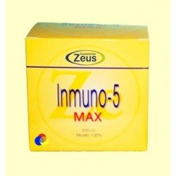 Inmuno 5 max polvo - Zeus suplementos - 500 gramos