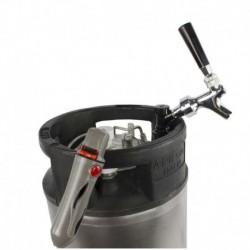 Kit barril Corny con grifo y porta cargas